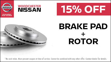 Brake Pads + Rotors - Image